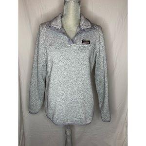 L.L Bean Women's Sweater Fleece Pullover